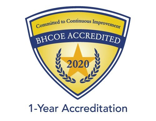 BHCOE Accredited 2020