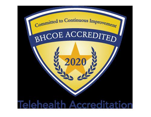 BHCOE Telehealth Accreditation 2020